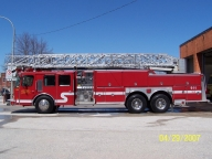 For Sale: 1989 E-One Aerial Truck