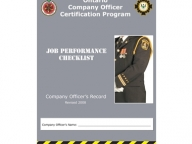 Company Officer Job Performance Checklist
