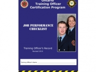 Training Officer Job Performance Checklist