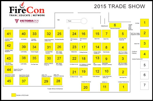 Firecon trade show ontario association of fire chiefs for Trade show floor plan software